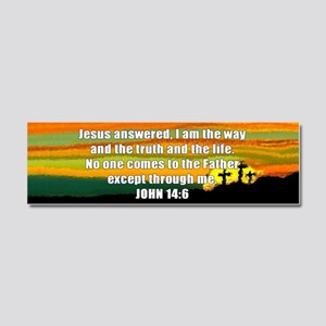 John 14:6 Car Magnet 10 x 3